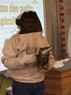 Protégé: Visite d'un apiculteur en CP B
