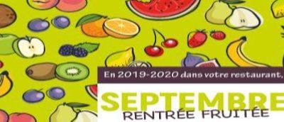 Septembre 2019 – Menus des restaurants scolaires primaire et maternelle