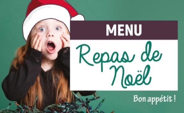 Décembre 2019 – Menus des restaurants scolaires primaire et maternelle